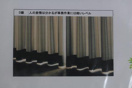 遮光カーテン 3級