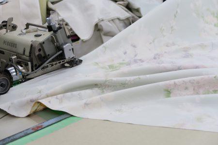 カーテン巾つなぎ
