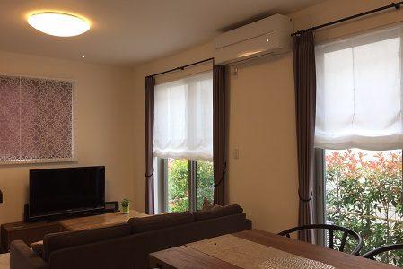 施工例 窓装飾スタイル