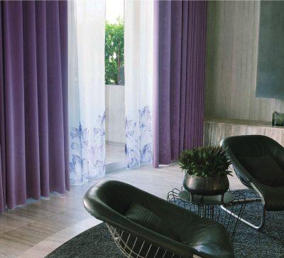 カーテン パープル ヴァイオレット トレンドカラー 紫