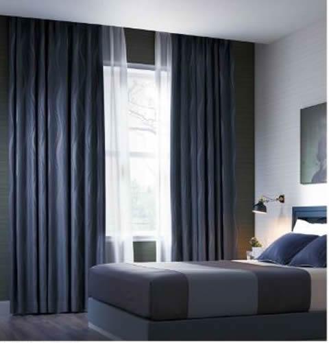 サンゲツ 寝室 落ち着き ブルー