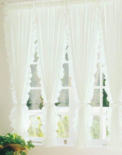 セパレーツ スタイルカーテン 出窓 飾り窓
