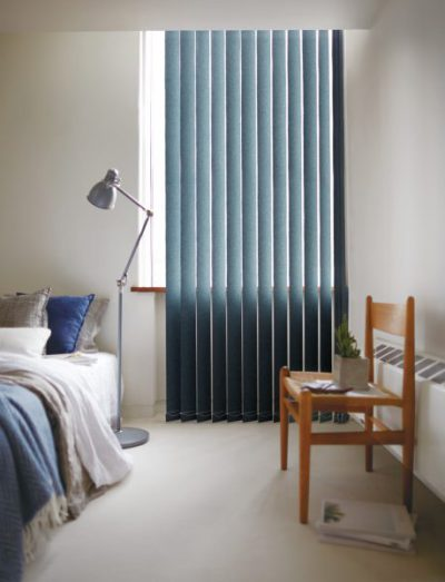 シンプル スッキリ 縦型ブラインド 狭い部屋