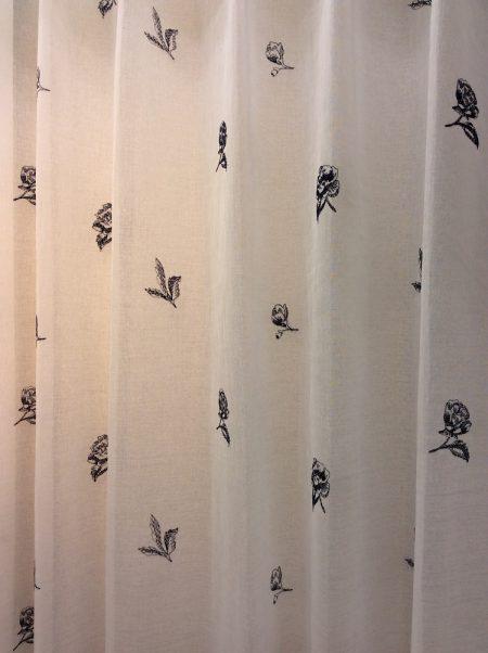 レトロなカーテン