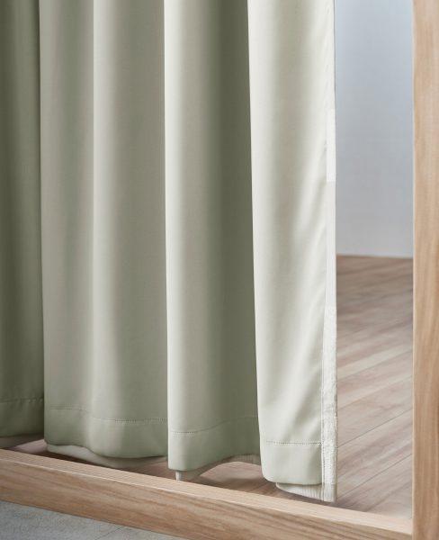 カーテン 裏地付き 遮光