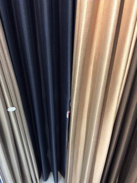 縦ストライプ 遮光カーテン