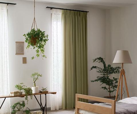 川島織物セルコン 癒しの色 グリーン