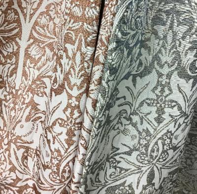 川島織物セルコン ウィリアムモリス ブラザーラビット