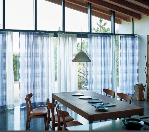 川島織物セルコン カーテン 分割