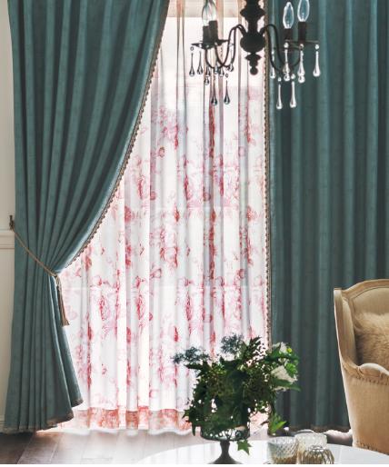川島織物セルコン カーテン きれいめ リビング