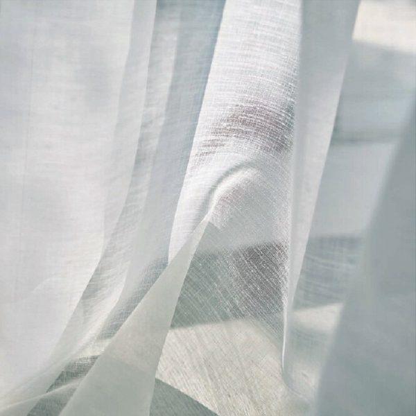 スミノエ レースカーテン ホワイト ボイル ナチュラル