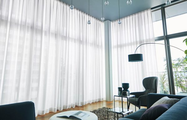 タワーマンション カーテン